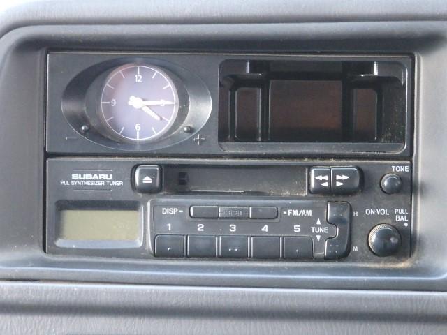 カセットラジオ付き♪