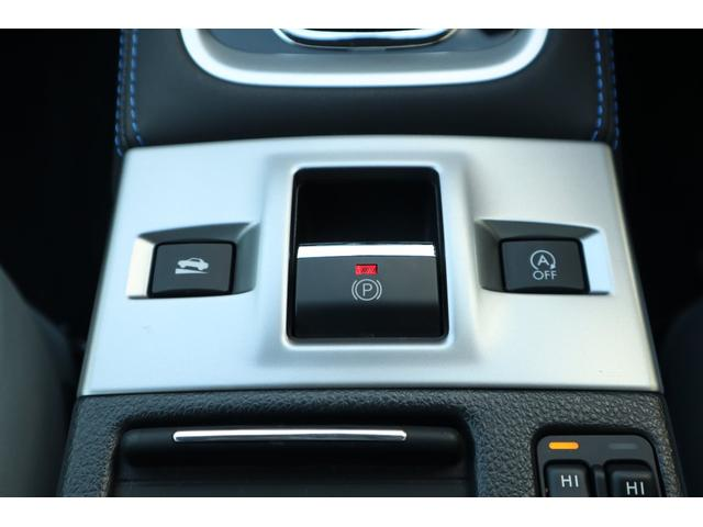 電動パーキングブレーキ採用で追従クルーズコントロール使用時の停止保持が可能です