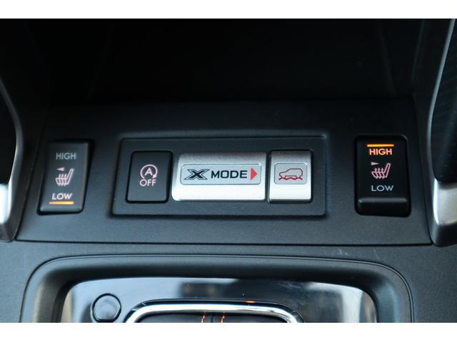 悪路走破性を高めるX-MODE&冬場重宝するシートヒーター付き