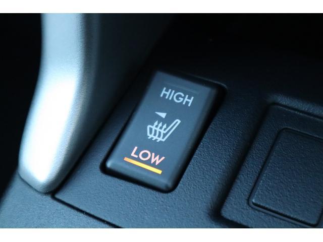 前席にはシートヒーター機能付き