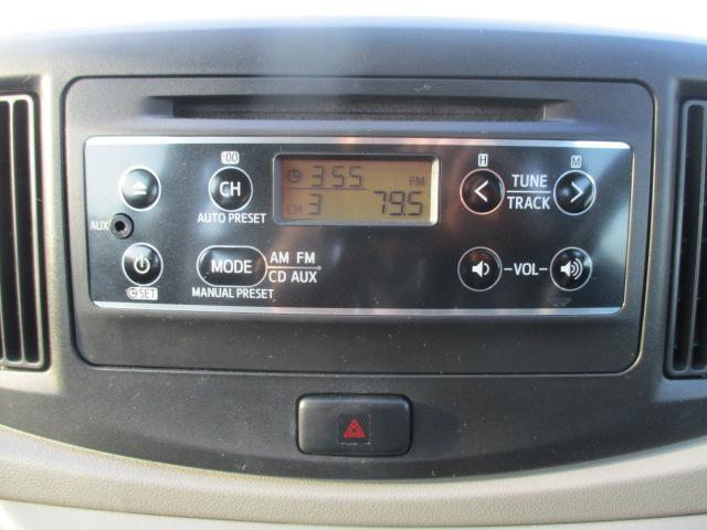 ダイハツ ミライース L CD ドアバイザー キーレス 1年保証付
