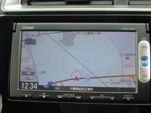 ホンダ フィット 13G・Fパッケージ 純正メモリーナビ ETC