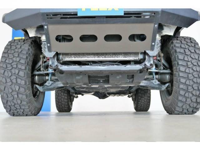 4.0 4WD 4インチUP SDナビ 社外フロントバンパー(10枚目)