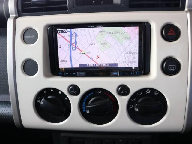 4.0 4WD 4インチUP SDナビ 社外フロントバンパー(14枚目)