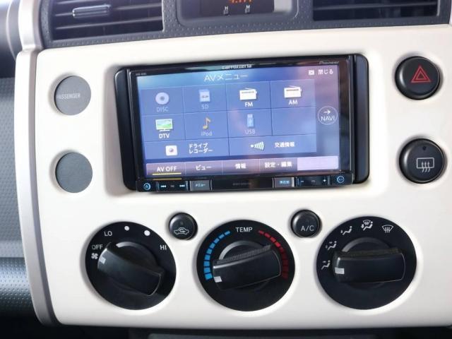4.0 4WD 4インチUP SDナビ 社外フロントバンパー(15枚目)