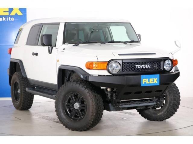 4.0 4WD 4インチUP SDナビ 社外フロントバンパー(19枚目)