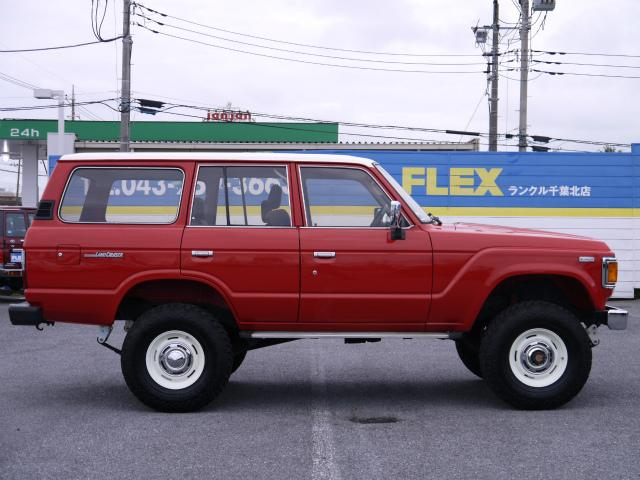 トヨタ ランドクルーザー60 VX 3インチUP DEAN16インチAW ロールーフ換装