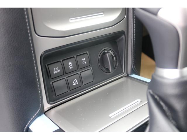TX Lパッケージ 2インチリフトUP MGゴーレム17インチAW ジオランダーMTタイヤ アルパインBIG-Xナビ バックカメラ ETC車載器 サンルーフ ルーフレール 寒冷地仕様 クリアランスソナー バイザー マット(43枚目)