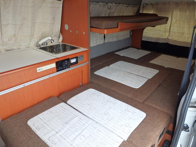 日産 NV350キャラバンバン スーパーロングDXターボ キャンピングカー