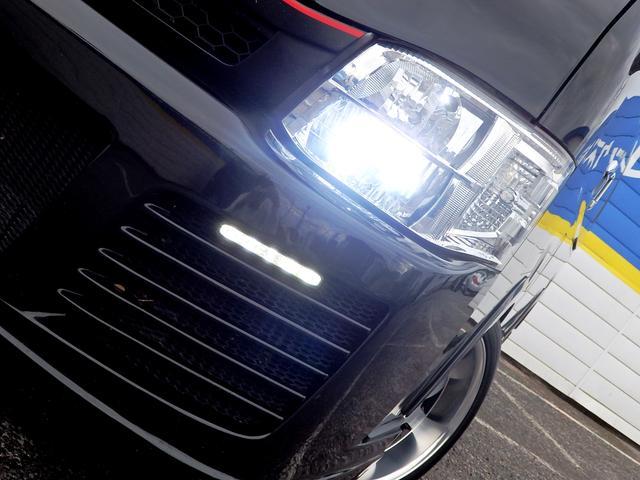 トヨタ ハイエースワゴン GLFバンパーエアログリルローダウンRスポイラー