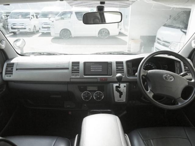 トヨタ レジアスエースバン スーパーGL バットラッカーアルミ フルセグHDDナビ
