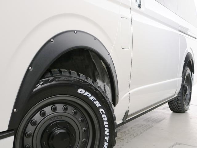 GL 10人乗り3ナンバー登録 ガソリン4WD 寒冷地仕様 内装アレンジVer1デニム バンパーガード オーバーフェンダー 16インチAW ナビ ETC 後席モニター ベッド テーブル 床張り(16枚目)