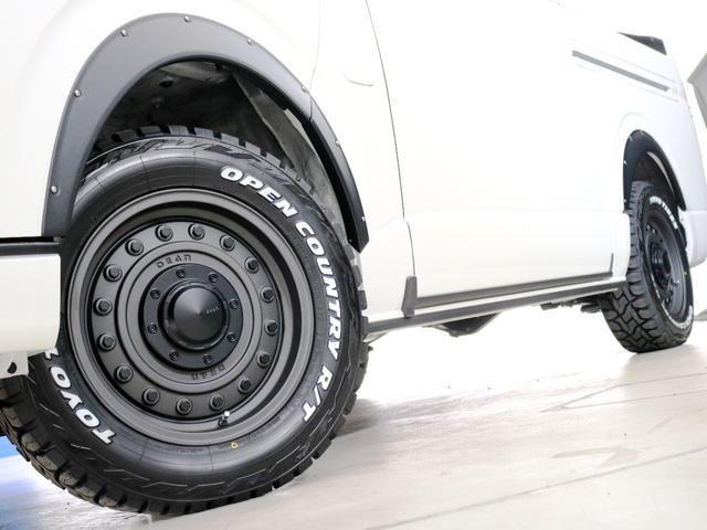 GL 10人乗り3ナンバー登録 ガソリン4WD 寒冷地仕様 内装アレンジVer1デニム バンパーガード オーバーフェンダー 16インチAW ナビ ETC 後席モニター ベッド テーブル 床張り(17枚目)