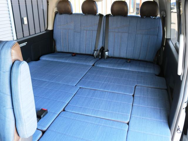 GL 10人乗り3ナンバー登録 ガソリン4WD 寒冷地仕様 内装アレンジVer1デニム バンパーガード オーバーフェンダー 16インチAW ナビ ETC 後席モニター ベッド テーブル 床張り(30枚目)