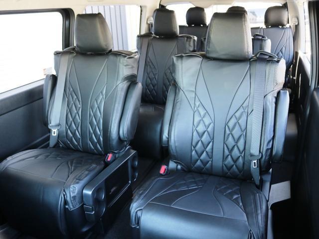 GL ファインテックツアラー 10人乗り3ナンバー登録 ガソリン2WD ローダウン 17インチAW ナビ ETC 後席モニター キャプテンシート スライドレール シートカバー(3枚目)