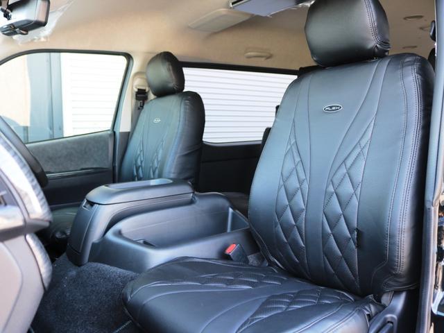 GL ファインテックツアラー 10人乗り3ナンバー登録 ガソリン2WD ローダウン 17インチAW ナビ ETC 後席モニター キャプテンシート スライドレール シートカバー(17枚目)