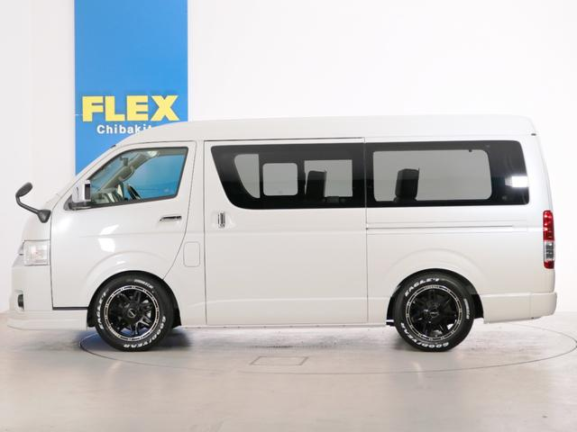 GL 10人乗り3ナンバー登録 ガソリン2WD FLEXオリジナル内装アレンジVer3 ローダウン 17インチAW ナビ ETC 後席モニター 3人掛けシート2脚 フルフラットベッド 床張り(6枚目)