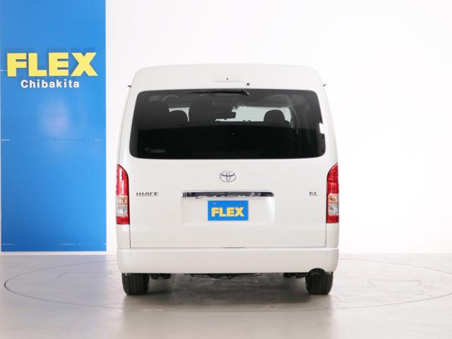 GL 10人乗り3ナンバー登録 ガソリン2WD FLEXオリジナル内装アレンジVer3 ローダウン 17インチAW ナビ ETC 後席モニター 3人掛けシート2脚 フルフラットベッド 床張り(7枚目)