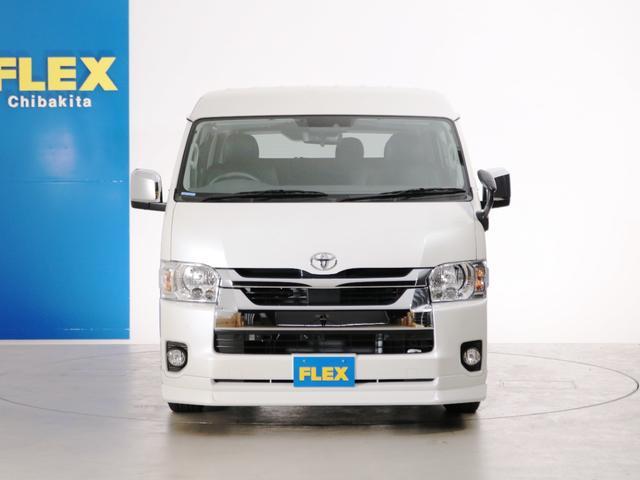 GL 10人乗り3ナンバー登録 ガソリン2WD FLEXオリジナル内装アレンジVer3 ローダウン 17インチAW ナビ ETC 後席モニター 3人掛けシート2脚 フルフラットベッド 床張り(8枚目)