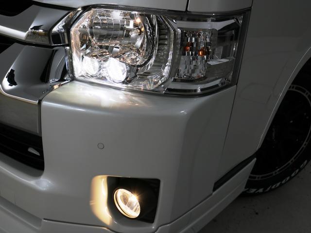GL 10人乗り3ナンバー登録 ガソリン2WD FLEXオリジナル内装アレンジVer3 ローダウン 17インチAW ナビ ETC 後席モニター 3人掛けシート2脚 フルフラットベッド 床張り(9枚目)