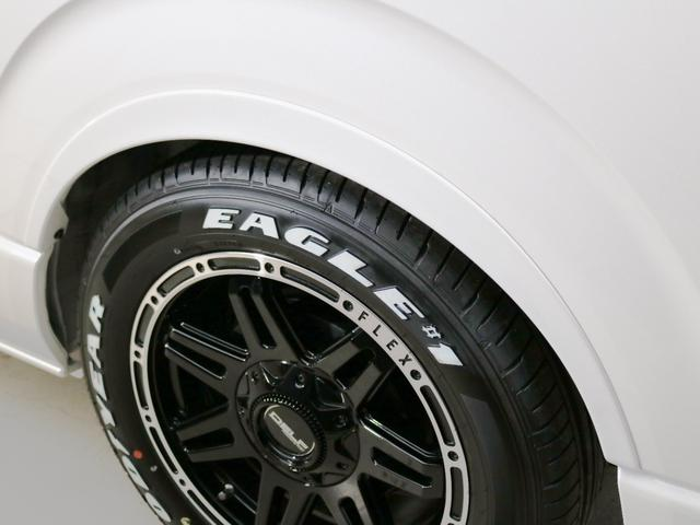 GL 10人乗り3ナンバー登録 ガソリン2WD FLEXオリジナル内装アレンジVer3 ローダウン 17インチAW ナビ ETC 後席モニター 3人掛けシート2脚 フルフラットベッド 床張り(14枚目)