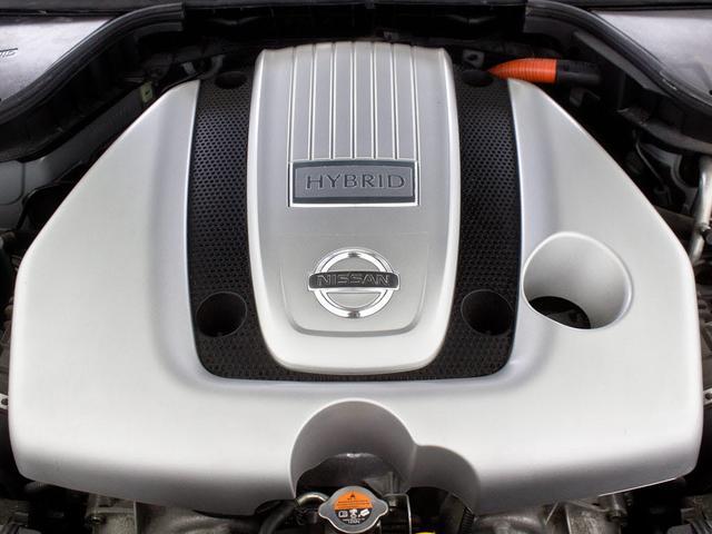 日産 フーガハイブリッド VIP 本革シートヒーター フルセグHDDマルチ レーダーC