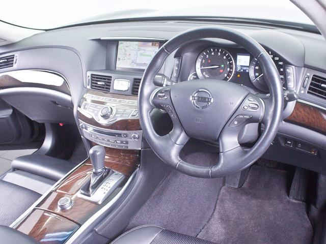 日産 フーガハイブリッド ベース 禁煙車 新品20AW OPエアロ HDDマルチ