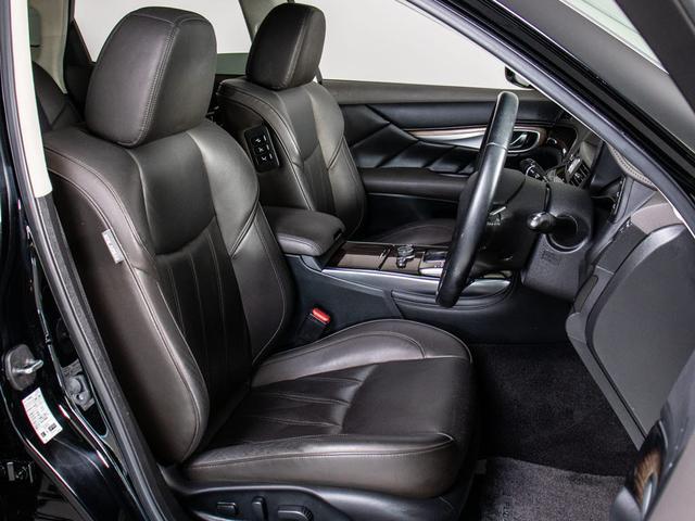 370VIP 禁煙車 黒本革シート エアシート シートヒーター レーダークルーズコントロール アラウンドビューモニター シートメモリー 全席パワーシート LEDライト Bluetoothオーディオ ETC(15枚目)