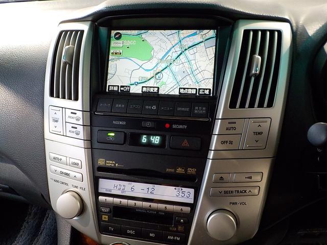 トヨタ ハリアー 350G プレミアムLPKG エアロ 純正HDDパワーバック