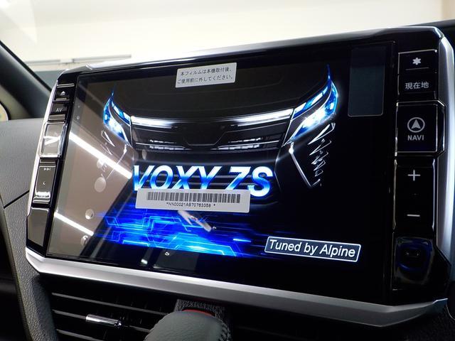トヨタ ヴォクシー ZS モデリスタフルエアロ アルパイン製専用11インチナビ