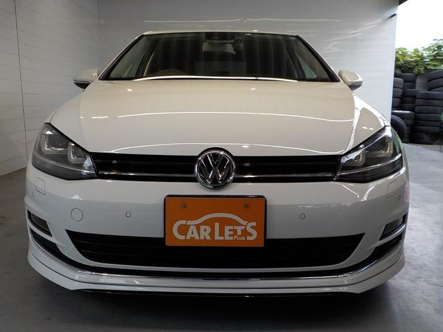フォルクスワーゲン VW ゴルフ TSIハイラインブルーモーションテクノロジー ローダウン