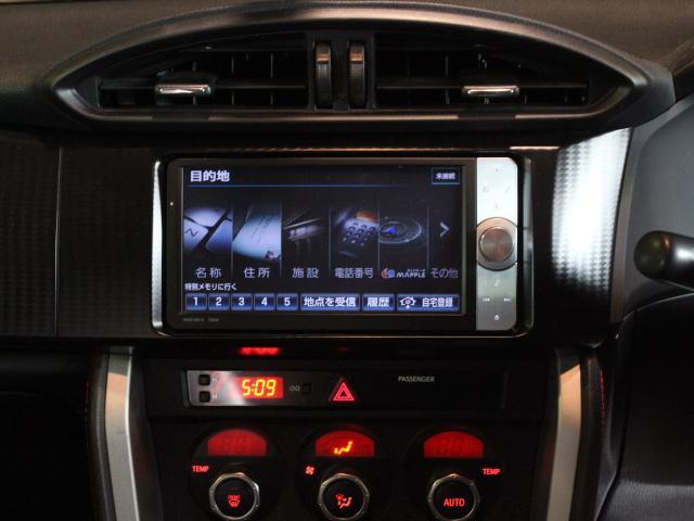 トヨタ 86 GT HDDナビTV バックカメラ フルノーマル