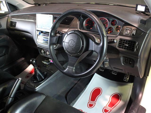 GSRエボリューションIX TRUST車高調 HDDナビ(10枚目)