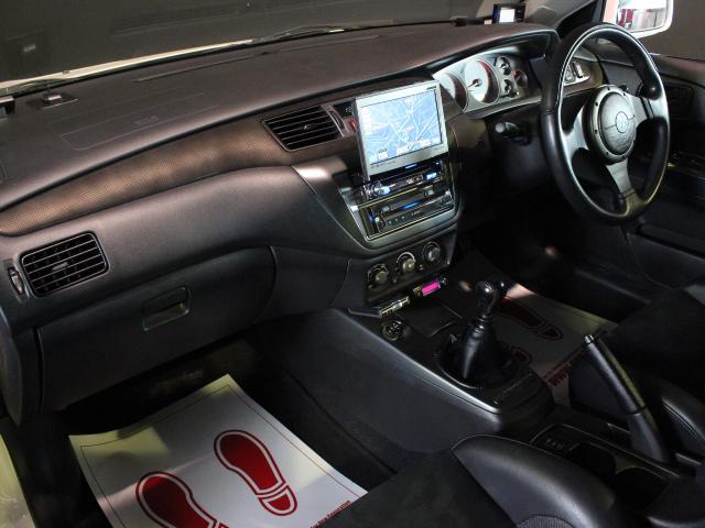 GSRエボリューションIX TRUST車高調 HDDナビ(12枚目)