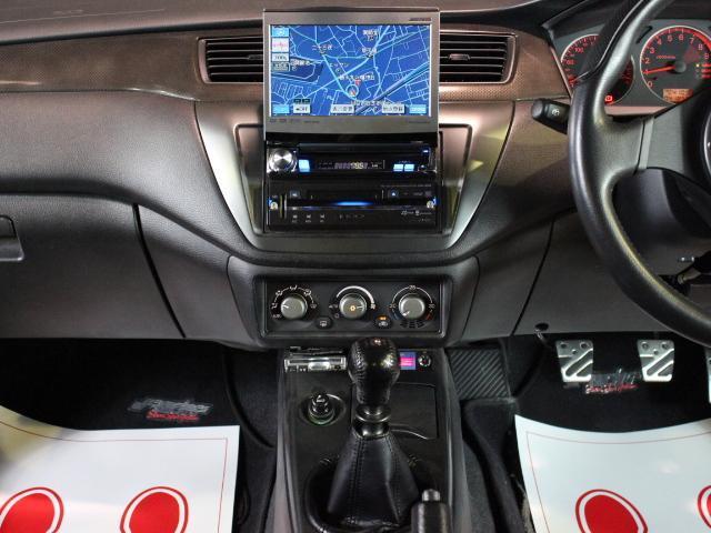 GSRエボリューションIX TRUST車高調 HDDナビ(13枚目)