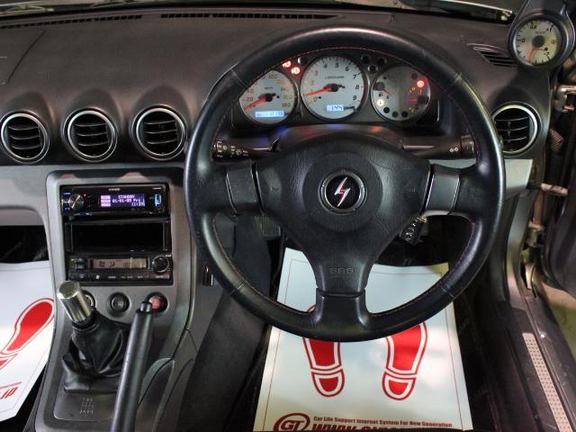 スペックRエアロ GPスポーツマフラー 社外車高調 ETC(11枚目)