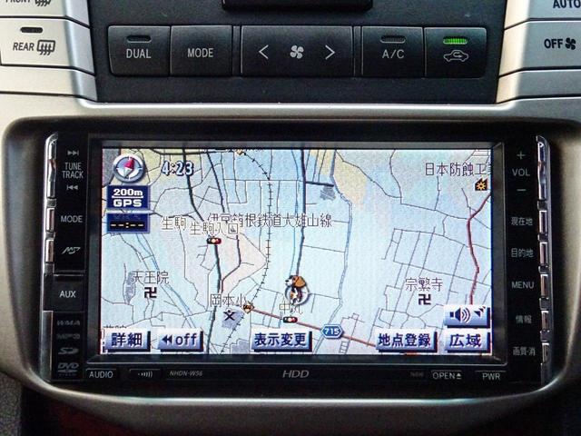 トヨタ ハリアー 350GLパケ後期 黒本革22AW社外3連HライトHDDナビ