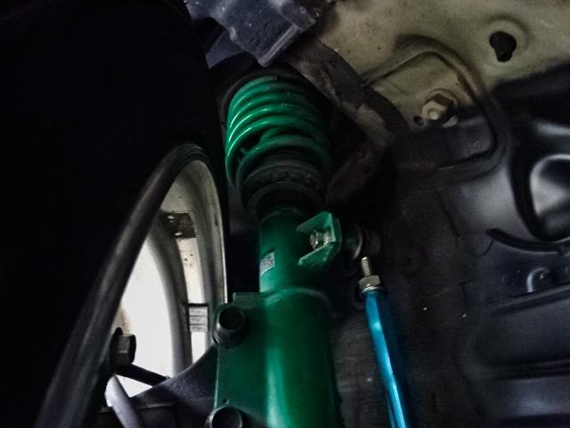 トヨタ エスティマ アエラス後期エアロWORKアルミ車高調ナビ天モニ両側パワスラ