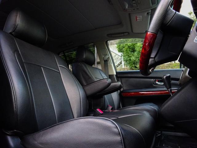 トヨタ ハリアー 350G-Lパケ後期サンルーフ外フルエアロ22AW車検2年込