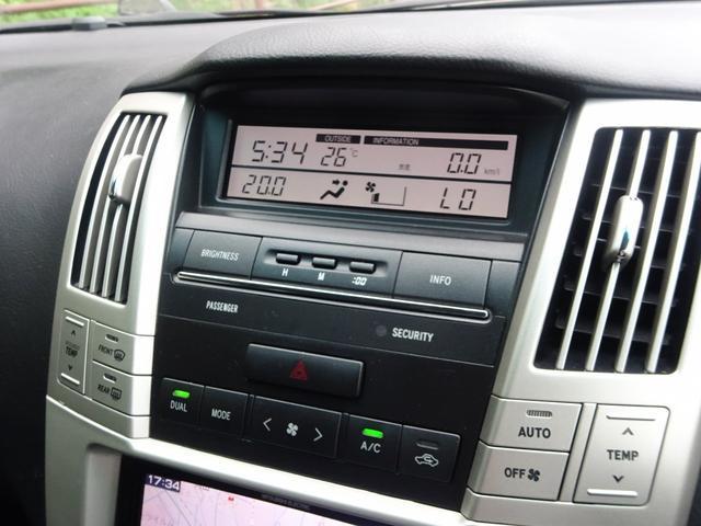 240G後期型社外22AW黒革調シート外ナビTV左右独立AC(12枚目)
