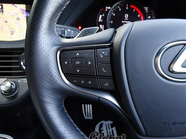 LS500 Fスポーツ サンルーフ・本革・モデリスタフルエアロ・LED3眼ヘッド・シーケンシャルウィンカー・安全装備・ナビTV・BT音楽・Bカメラ/アラビュー・マークレビンソン・2.0ETC・USB・ヘッドアップディスプレイ(42枚目)