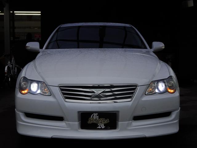 250G 後期・社外フルエアロ・アネーロ19インチAW・車高調・HIDライト・フィルムガラス・HDDナビ・地デジTV・走行中可能・バックカメラ・ETC・両側パワーシート・ステアリングスイッチ・フルカスタムカー(18枚目)