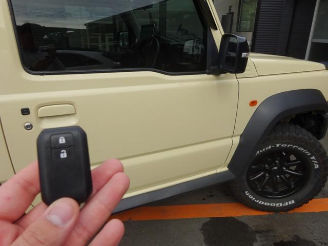 JC 1オーナー・MT車・4WD・リフトアップ・BFホワイトレタータイヤ・2トーンカラー・ルーフキャリア・LEDライト・安全装備・SDナビ・TV・BT音楽・ETC・シートヒータ・USB・LEDヘッド/フォグ(10枚目)