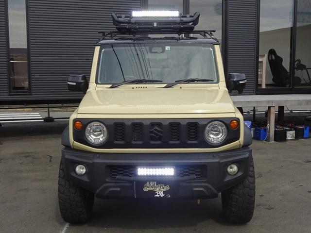 JC 1オーナー・MT車・4WD・リフトアップ・BFホワイトレタータイヤ・2トーンカラー・ルーフキャリア・LEDライト・安全装備・SDナビ・TV・BT音楽・ETC・シートヒータ・USB・LEDヘッド/フォグ(24枚目)