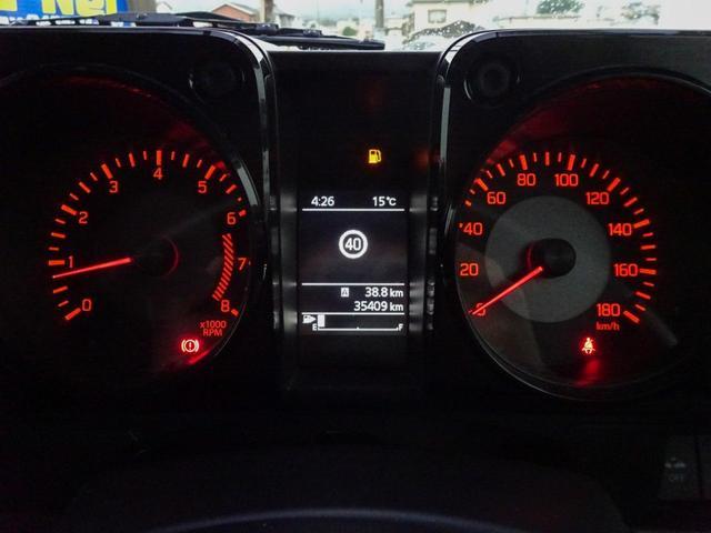 JC 1オーナー・MT車・4WD・リフトアップ・BFホワイトレタータイヤ・2トーンカラー・ルーフキャリア・LEDライト・安全装備・SDナビ・TV・BT音楽・ETC・シートヒータ・USB・LEDヘッド/フォグ(36枚目)