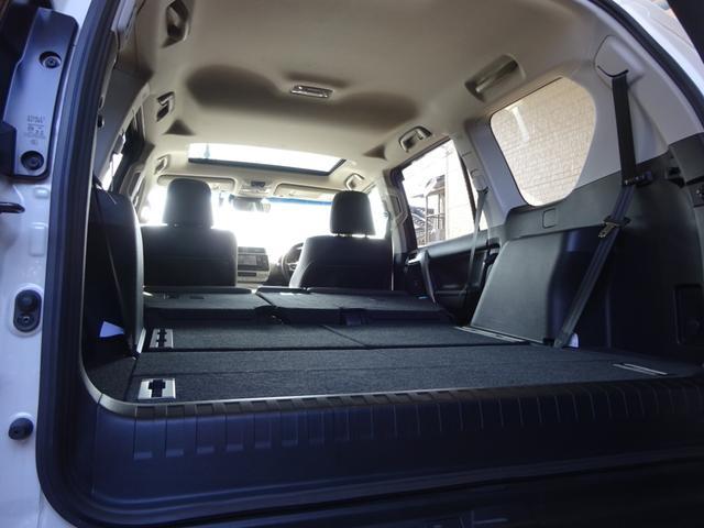 TX Lパッケージ 後期・7人乗り・4WD・黒本革・サンルーフ・LEDヘッド・Tコネクトナビ・TV・BT音楽・Bカメラ・ETC・安全装備・前後コーナーセンサー・電度3列目シート・シートヒーター/クーラー・走行中視聴可能(18枚目)