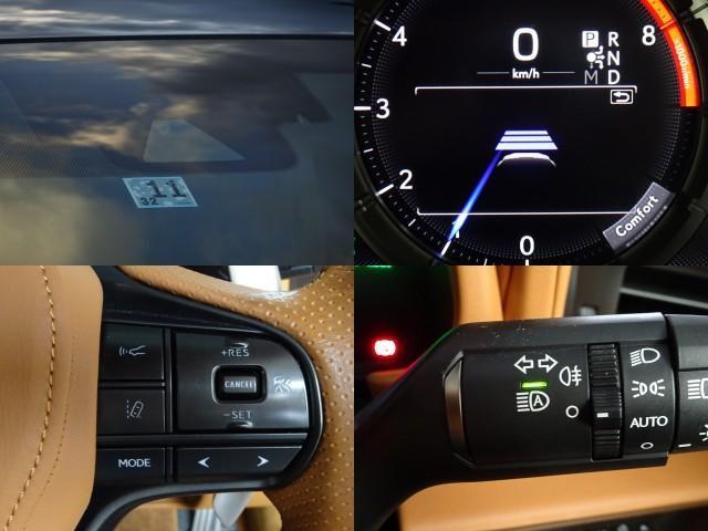 LC500h 1オーナー・ハイブリッド・アルカンターラ本革・OP21AW・カーボンルーフ・スピンドルグリル・3眼LEDヘッド・リアフォグ・大型SDナビ・地TV・Bカメラ・ETC2.0・安全装備・BSM・低走行(16枚目)