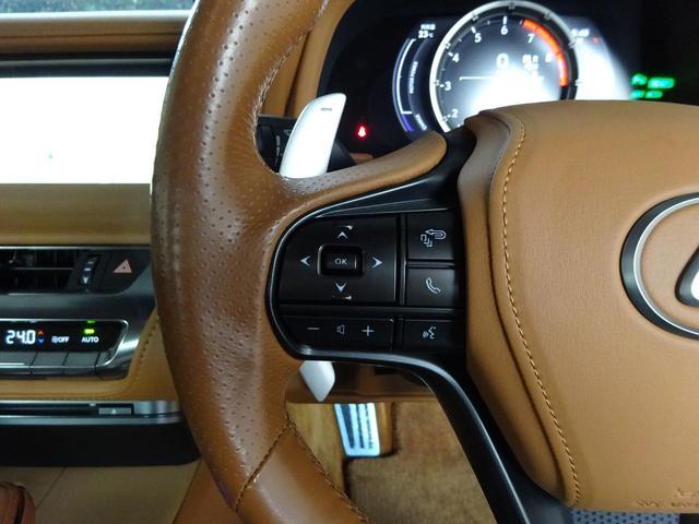 LC500h 1オーナー・ハイブリッド・アルカンターラ本革・OP21AW・カーボンルーフ・スピンドルグリル・3眼LEDヘッド・リアフォグ・大型SDナビ・地TV・Bカメラ・ETC2.0・安全装備・BSM・低走行(49枚目)