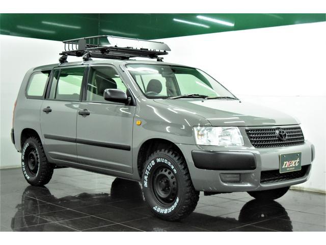 UL 4WD リフトアップ ブラックアウトホイール マッドタイヤ ルーフキャリア ルーフラック ナビ 地デジTV アウトドア カスタム(3枚目)