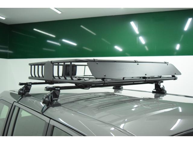 UL 4WD リフトアップ ブラックアウトホイール マッドタイヤ ルーフキャリア ルーフラック ナビ 地デジTV アウトドア カスタム(17枚目)